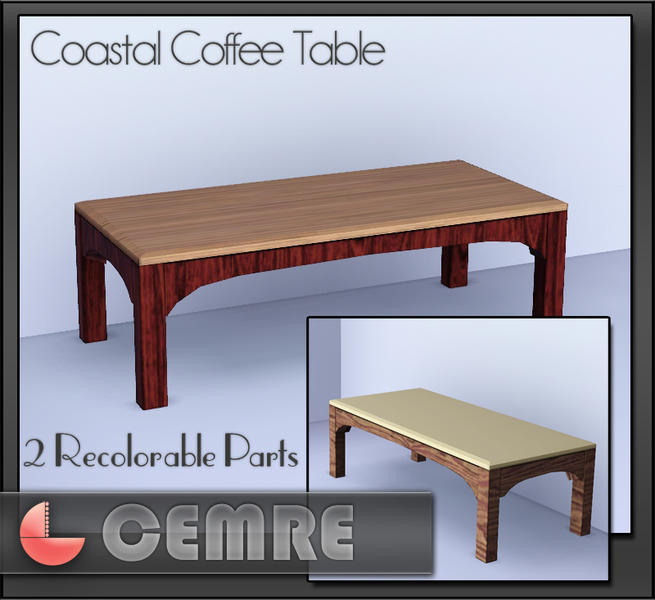 Cemre 39 S Coastal Living Series Coffee Table