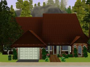 Sims 3 — Emerald Court by KatieKing — Beautifully landscaped with lots of green gardens! Boasts a garage, 2 bedrooms, 1