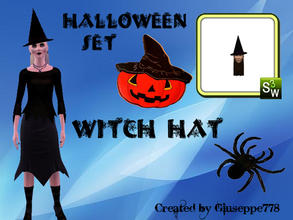 Sims 3 — Witch Hat by Giuseppe778 — 31 October is Halloween, celebrate this holiday to your sims with this set of 3