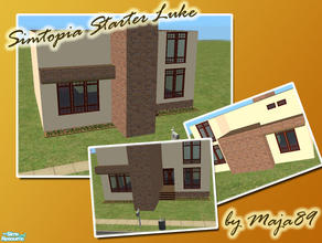 Sims 2 — Simtopia Starter Luke by maja89 — Cozy, but yet very modern starter for a small family on their begining to the