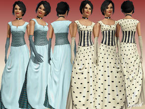 Sims 3 — Young/Adult Formal Set-02 by TugmeL — Standard EA Games re-color clothes.. This set has 2 Outfits By TugmeL@TSR