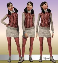 Sims 3 —  Teen Everyday-02 by TugmeL — By TugmeL@TSR
