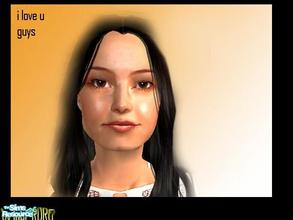 Sims 2 — miranda cosgrove by fabianandres — this is miranda the icarly star she is so cool,,,jiji isnot pretty i