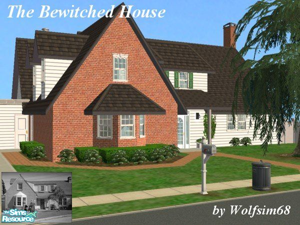 Wolfsim68 S The Bewitched House