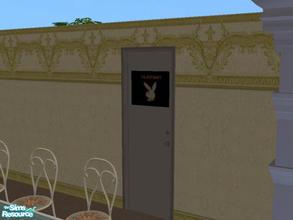 Dorm Door & Downloads / Sims 2 / Objects / Build Mode / Doors - \u0027dorm\u0027