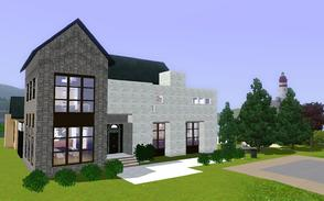 Sims 3 — Edmonger by BrooksHalten — A luxurious home that fuses the best of traditional with modern elements.