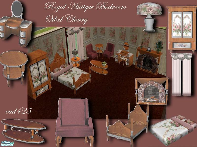 ead425 39 s royal antique bedroom oiled cherry