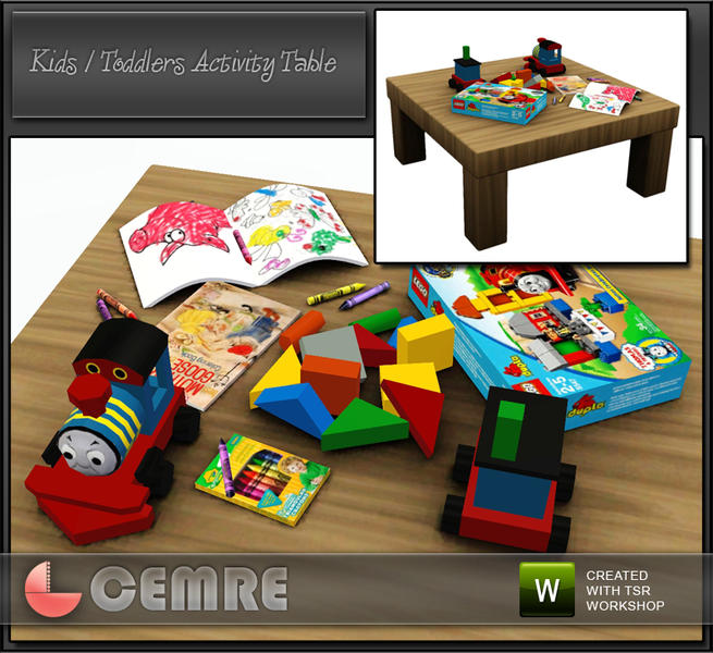Cemres Kids Baby Activity Table