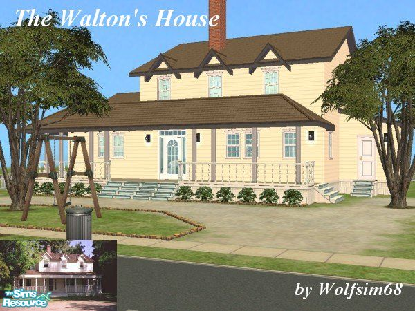 The waltons house plans - Home design and style