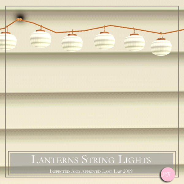 DOT s Lanterns String Lights Lamp