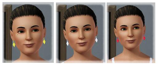 MelissaMel's Plumbbob Earrings Female
