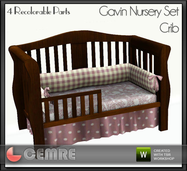 cemre's Gavin Nursery Set Crib