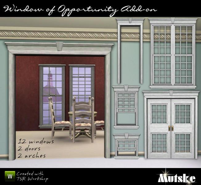 Mutske 39 s window of opportunity add ons for Window of opportunity