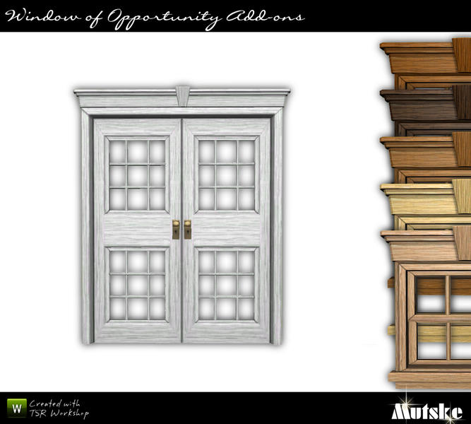 Door Double Colonial 2x1