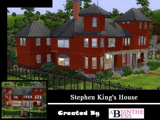 absinthebess 39 stephen king 39 s house. Black Bedroom Furniture Sets. Home Design Ideas