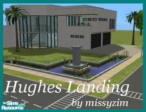 Sims 2 — Hughes Landing by missyzim — Large modern home on a 3x4 lot. Features 4 bedrooms, 3 bathrooms and lots of room