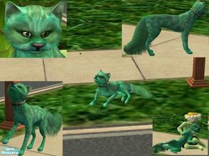 Sims 2 — Pretty Weed - Plant Cat by Small Town Sim — Pretty Weed is the purr-fect kitty for your Plant Sims! With her