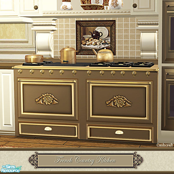 Country Kitchen Appliances: Cashcraft's French Country Kitchen