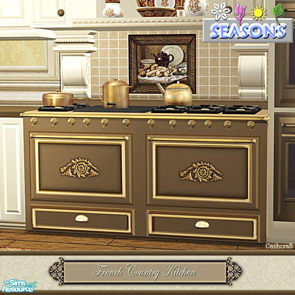 Cashcraft's French Country Kitchen