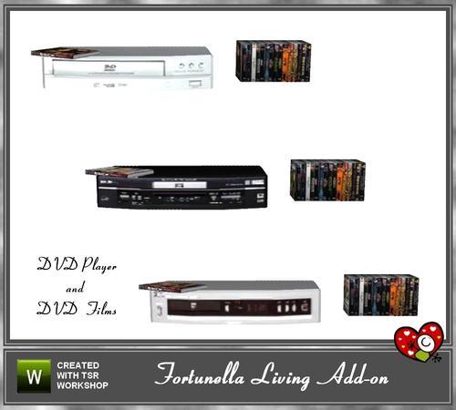 mensure u0026 39 s fortunella living dvd player