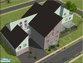 Sims 2 — Wallis Nursing Home by Chrmd — A nursing home for the elderly. Has 5 double bedrooms, jacuzzi,