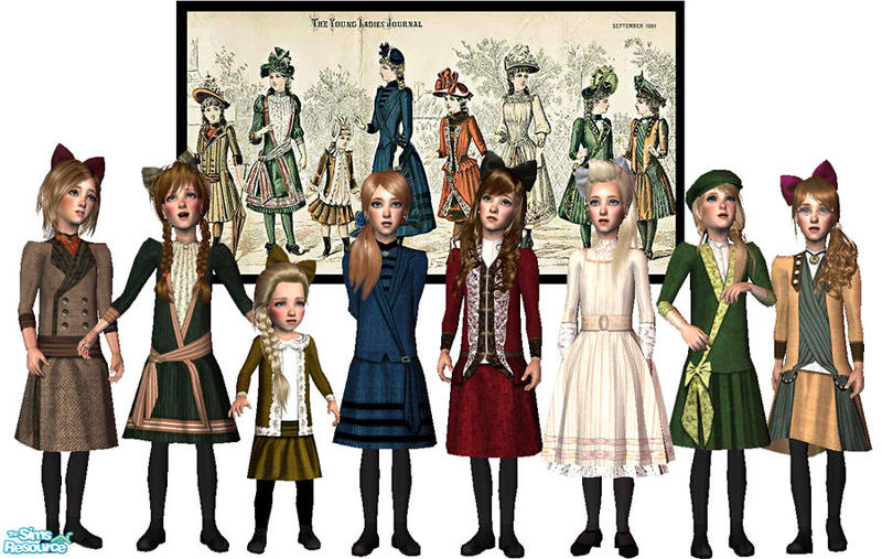 Giasims victorian dresses from the ladies journal