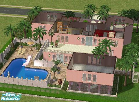 Ripley66 S Big Pink Mansion