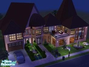 Sims 2 — LA VIDA(part 1 of a 3 dream house series by angiesupers — lovely Mediterranean home that demands a second