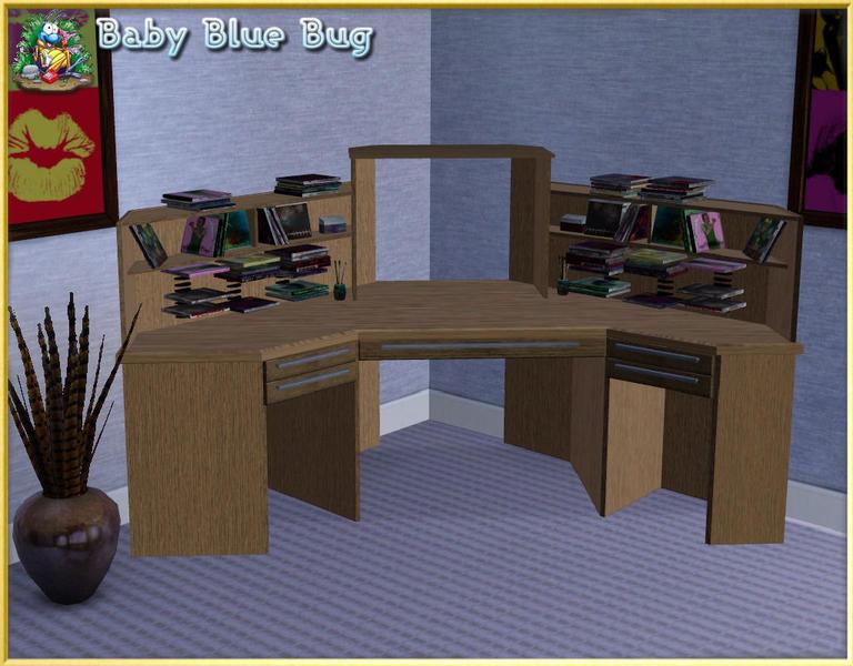 babybluebug's bbb office max corner desk clutter