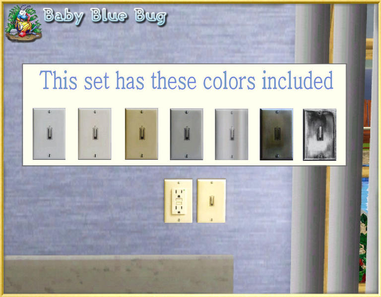 babybluebug\'s bbb Wall Light Switches