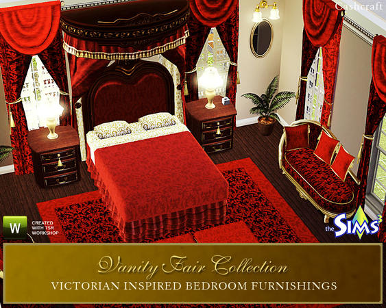 Rasch Tapeten Vanity Fair : Canopy Bed Sims 3 Downloads