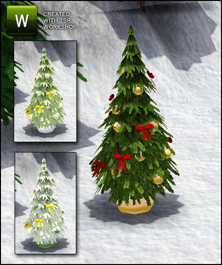 Sim_man123's XMas Market Christmas Tree 2