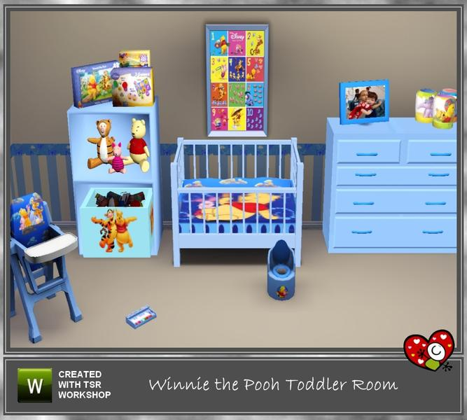 Mensures Winnie The Pooh Toddler Room
