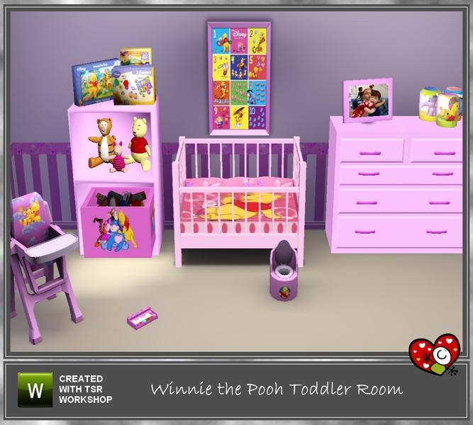 Mensure S Winnie The Pooh Toddler Room