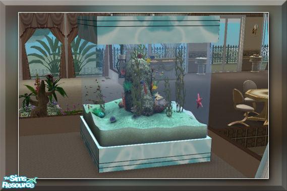 Sims 3 downloads 'aquarium'.