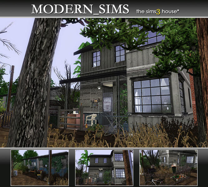 how to add downloaded house into sims 3