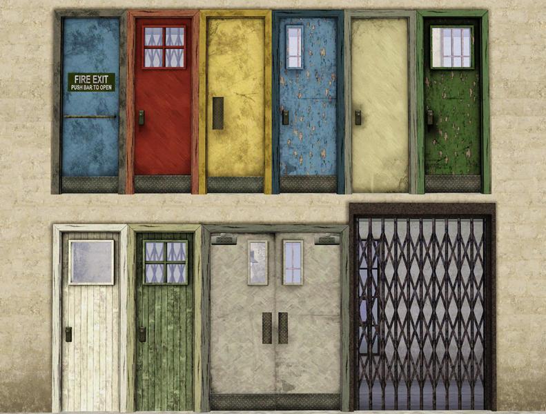 Factory Doors & Cyclonesueu0027s Factory Doors