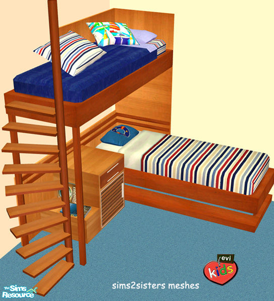 Bunk Bed For Sims