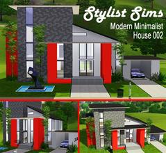 Ekky sims 39 s sims 3 lots for Minimalist house sims 3
