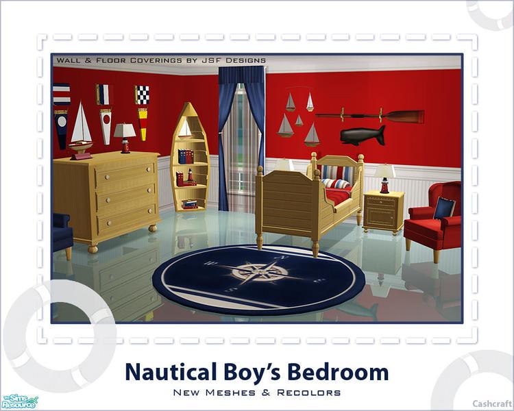 Little boy nautical bedroom