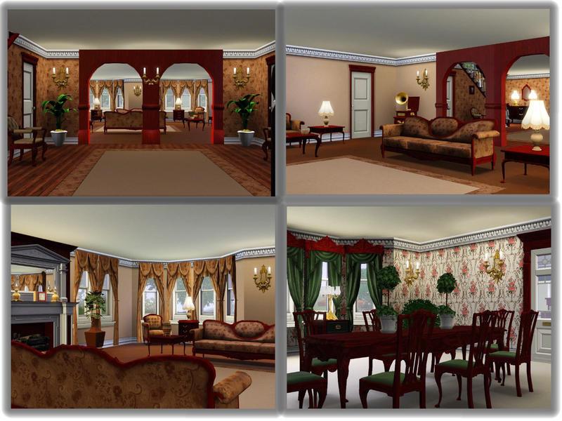 Sims 3 Замок
