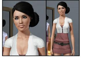 Sims 3 — Jordan Summers by jennygirl17 — Jordan Summers is the girl next door everyone wants to be friends with, with a