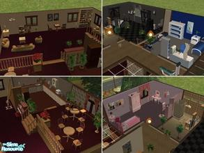 Sims 2 — Garden Villa by maja89 — Cozy home for a family with various tastes! It has a room for a boy and a girl and room