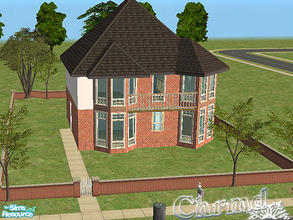 Sims 2 — English Townhouse by Chrmd — Based on a house I pass regulary in my home town. There is another version with a