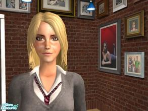 Sims 2 — Emma Watson by ihearttaylorswift — Emma Watson Sim. Meshes aren\'t have to be downloaded from modthesims2.com.