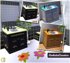 Sims 3 — Ambatia Bathroom Counter by carit — Enjoy!