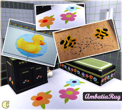 Sims 3 — Ambatia Bathroom Rug by carit — Enjoy!
