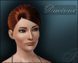 Sims 3 — Duotone Eyeshadow by flinn — An elegant eyeshadow with three colour channels.
