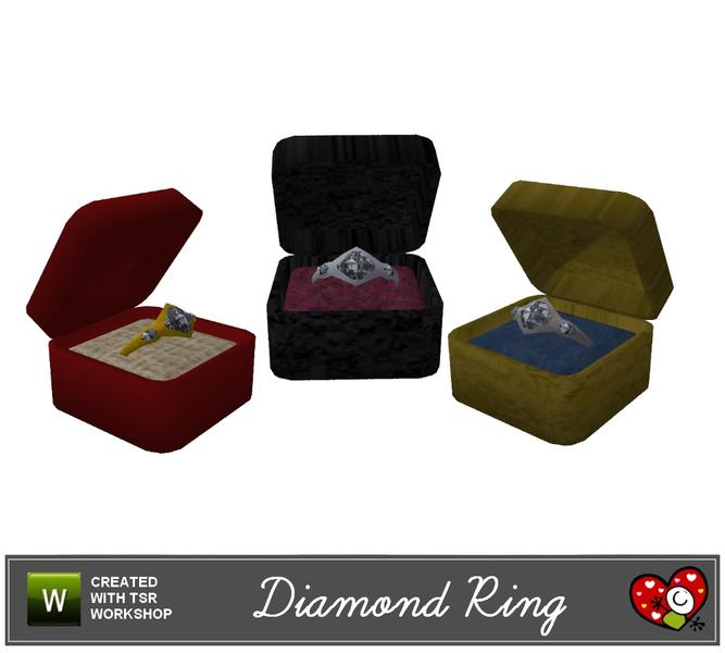 Diamond Ring with Gift Box  sc 1 st  The Sims Resource & mensureu0027s Diamond Ring with Gift Box Aboutintivar.Com