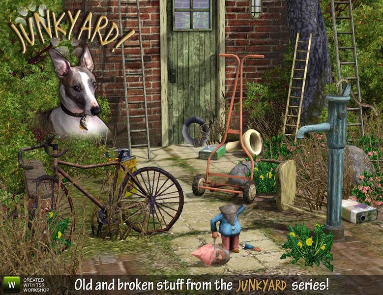 Cyclonesue S Garden Junk